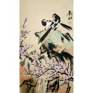 刘好国画作品《【花鸟】作者刘好》价格350.00元
