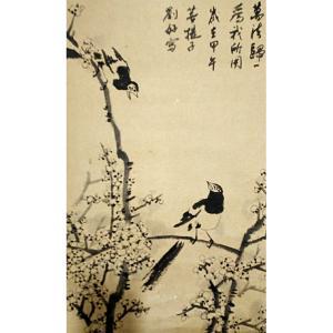 刘好国画作品《【花鸟】作者刘好》价格720.00元