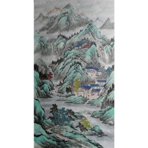 陈奇培国画作品《【相依为邻】作者陈奇培 临摹》价格1152.00元
