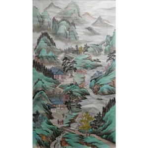 陈奇培国画作品《【三两好友】作者陈奇培 临摹》价格1152.00元