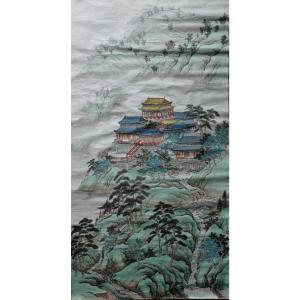 陈奇培国画作品《【登高阑珊】作者陈奇培 临摹》价格1152.00元