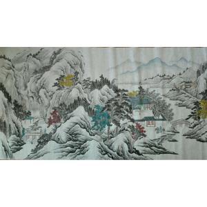 陈奇培国画作品-《【拜访】作者陈奇培 临摹》