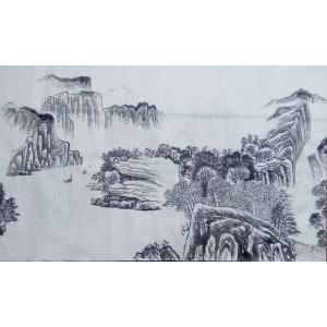 崔耀国画作品《【奇山妙水】作者崔耀》价格19200.00元