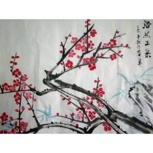 崔耀国画作品《【浩然正气】作者崔耀》价格19200.00元