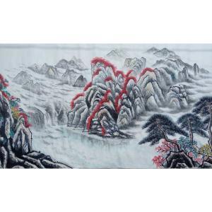 崔耀国画作品《【海角一边】作者崔耀》价格19200.00元