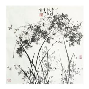 蒋红国画作品《【意鸟】作者蒋红》价格1200.00元