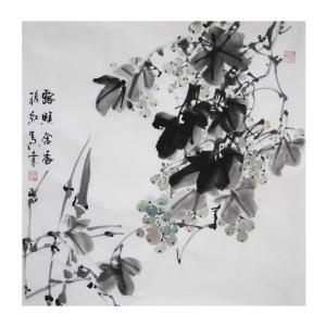 蒋红国画作品《【含香】作者蒋红》价格1200.00元
