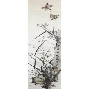 蒋红国画作品《【空谷】作者蒋红》价格1200.00元