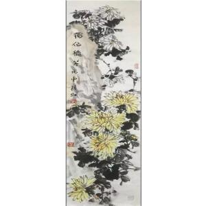 蒋红国画作品《【独占鳌头】作者蒋红》价格600.00元