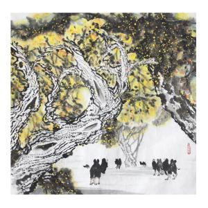 周全国画作品《【山水】 作者周全》价格57600.00元