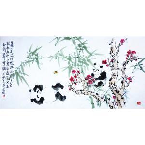 高瑞国画作品《【熊猫7】作者高瑞》价格3840.00元