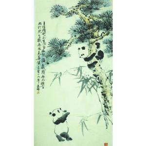 高瑞国画作品《【熊猫8】作者高瑞》价格3840.00元
