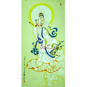 高瑞国画作品《【观音】作者高瑞》价格3840.00元
