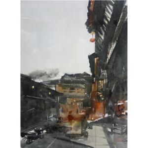 王涛油画作品《【老胡同】作者王涛》价格480.00元