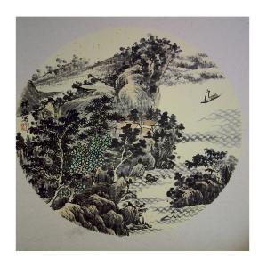 孔祥磊国画作品《【山水1】作者孔祥磊》价格1200.00元