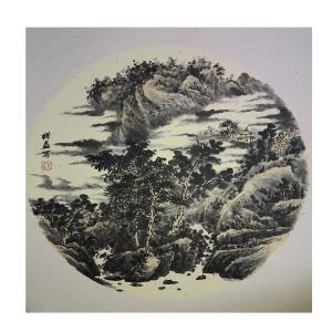 孔祥磊国画作品《【山水3】作者孔祥磊》价格1200.00元
