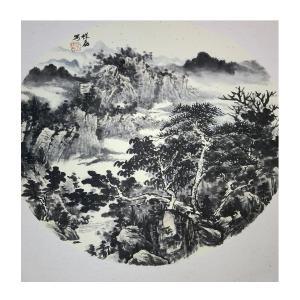 孔祥磊国画作品《【山水6】作者孔祥磊》价格1200.00元