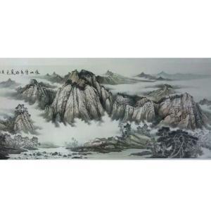 李富铭国画作品《【山水1】作者李富铭》价格7200.00元