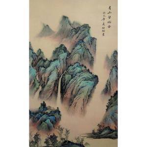 李富铭国画作品《【山水2】作者李富铭》价格7200.00元