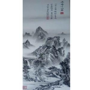 李富铭国画作品《【山水5】作者李富铭》价格720.00元