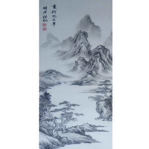 李富铭国画作品《【山水6】作者李富铭》价格720.00元