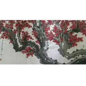 王云山国画作品《【梅花7】作者王云山》价格480000.00元