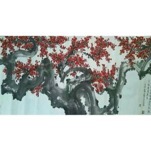 王云山国画作品《【梅花9】作者王云山》价格480000.00元