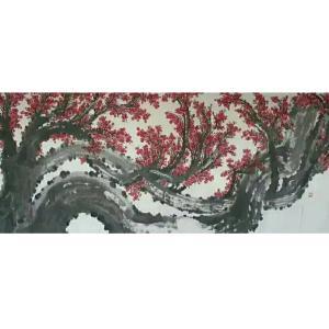 王云山国画作品《【梅花10】作者王云山》价格720000.00元