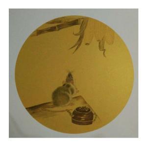 徐水英国画作品《【鼠】作者徐水英》价格3120.00元