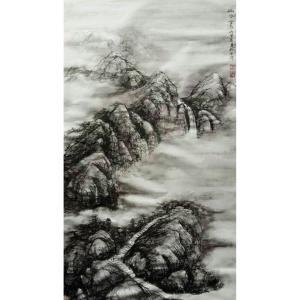 于宗孝国画作品《【山水1】作者于宗孝》价格1440.00元