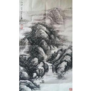 于宗孝国画作品《【山水2】作者于宗孝》价格1440.00元