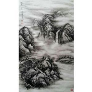 于宗孝国画作品《【山水4】作者于宗孝》价格1440.00元