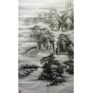 于宗孝国画作品《【山水5】作者于宗孝》价格1440.00元