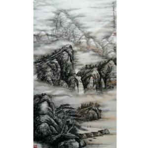 于宗孝国画作品《【山水6】作者于宗孝》价格1440.00元