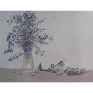 周俊峰国画作品《【瓶花3】作者周俊峰》价格480.00元