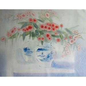 周俊峰国画作品《【瓶花7】作者周俊峰》价格480.00元