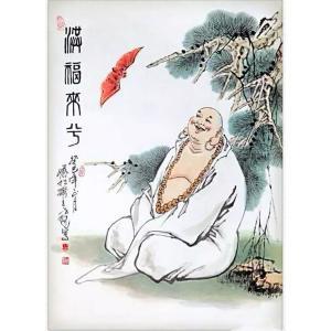 窦世魁国画作品《【福来兮】作者窦世魁》价格80000.00元