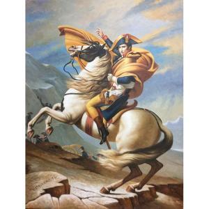 朱世想油画《【拿破仑】作者朱世想 临摹》