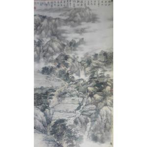 马海伟国画作品《【山长水远】作者马海伟》价格14400.00元