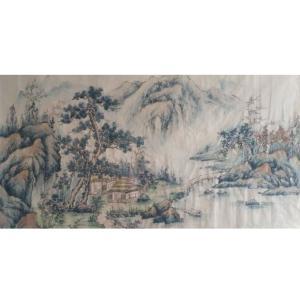 李其林国画作品《【山水5】作者李其林》价格1440.00元