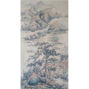 李其林国画作品《【山水8】作者李其林》价格1440.00元