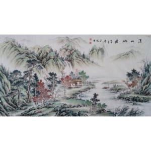 李其林国画作品《【山水11】作者李其林》价格2400.00元