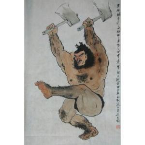 付师平国画作品《【人物3】作者付师平》价格240.00元
