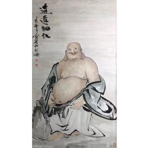 付师平国画作品《【人物8】作者付师平》价格480.00元