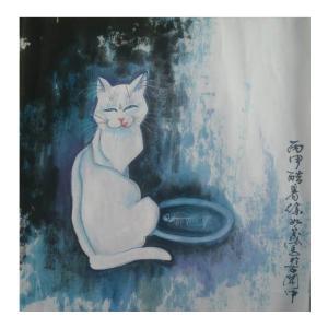 徐如茂国画作品《【猫生】作者徐如茂》价格1200.00元