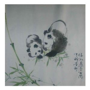徐如茂国画作品《【两国宝】作者徐如茂》价格1200.00元
