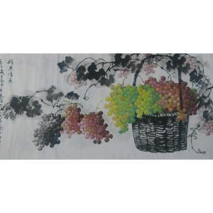 徐如茂国画作品《【硕果迷香】作者徐如茂》价格2400.00元