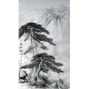 张跃川国画作品《【寻幽图】作者张跃川》价格1152.00元