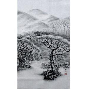 张跃川国画作品《【新春】作者张跃川》价格672.00元