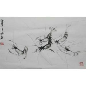 王立丰国画作品《【游龙】作者王立丰》价格456.00元